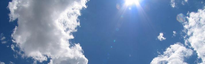 Небо, облака